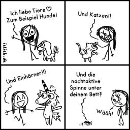 Liebe Tiere | Tier-Comic | is lieb?