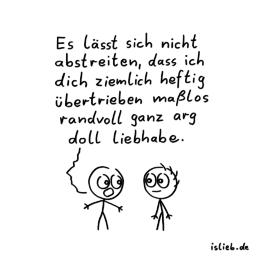 Statement | süßer Cartoon | is lieb?