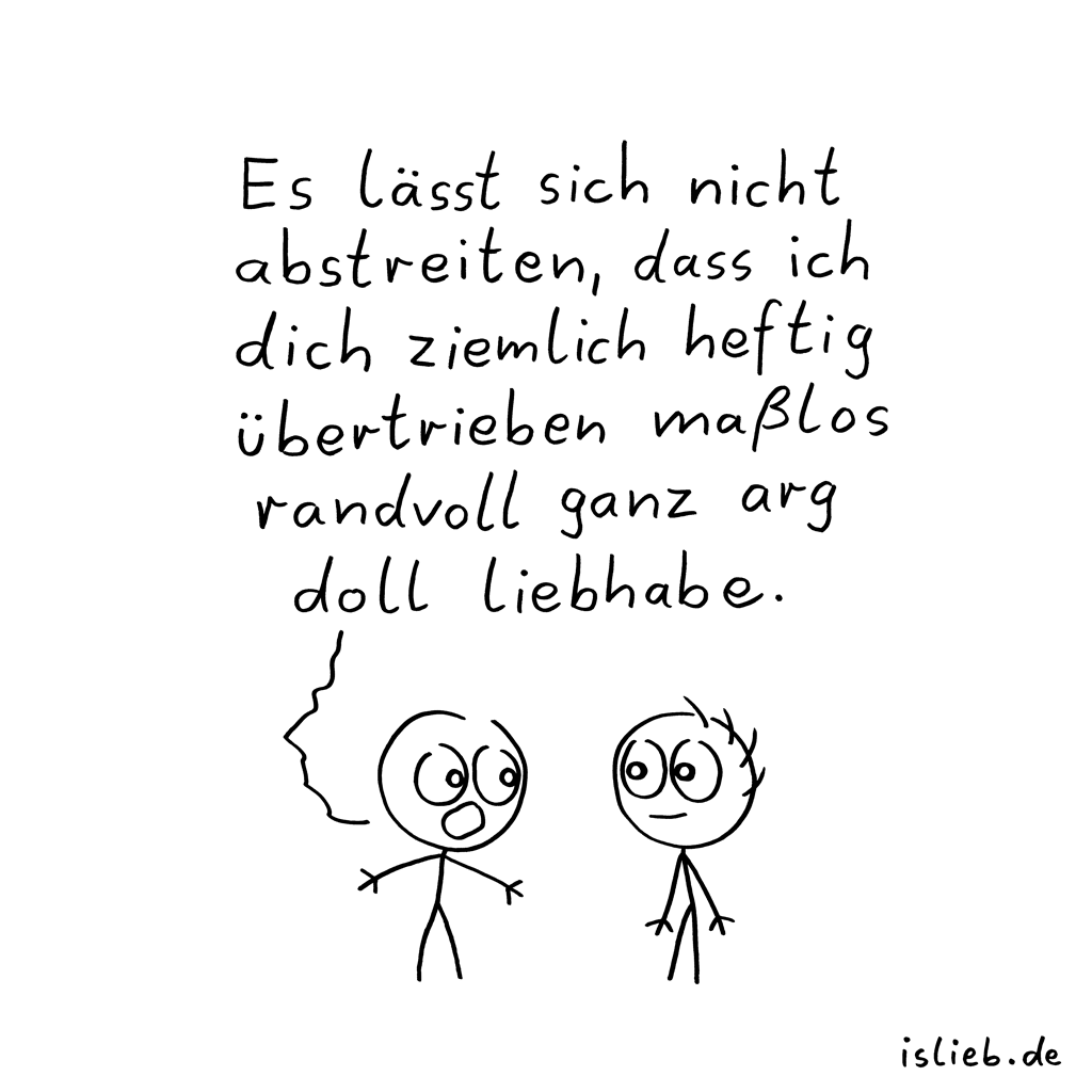 Statement | süßer Cartoon | is lieb?
