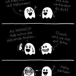 Halloween | Geister-Comic | is lieb?