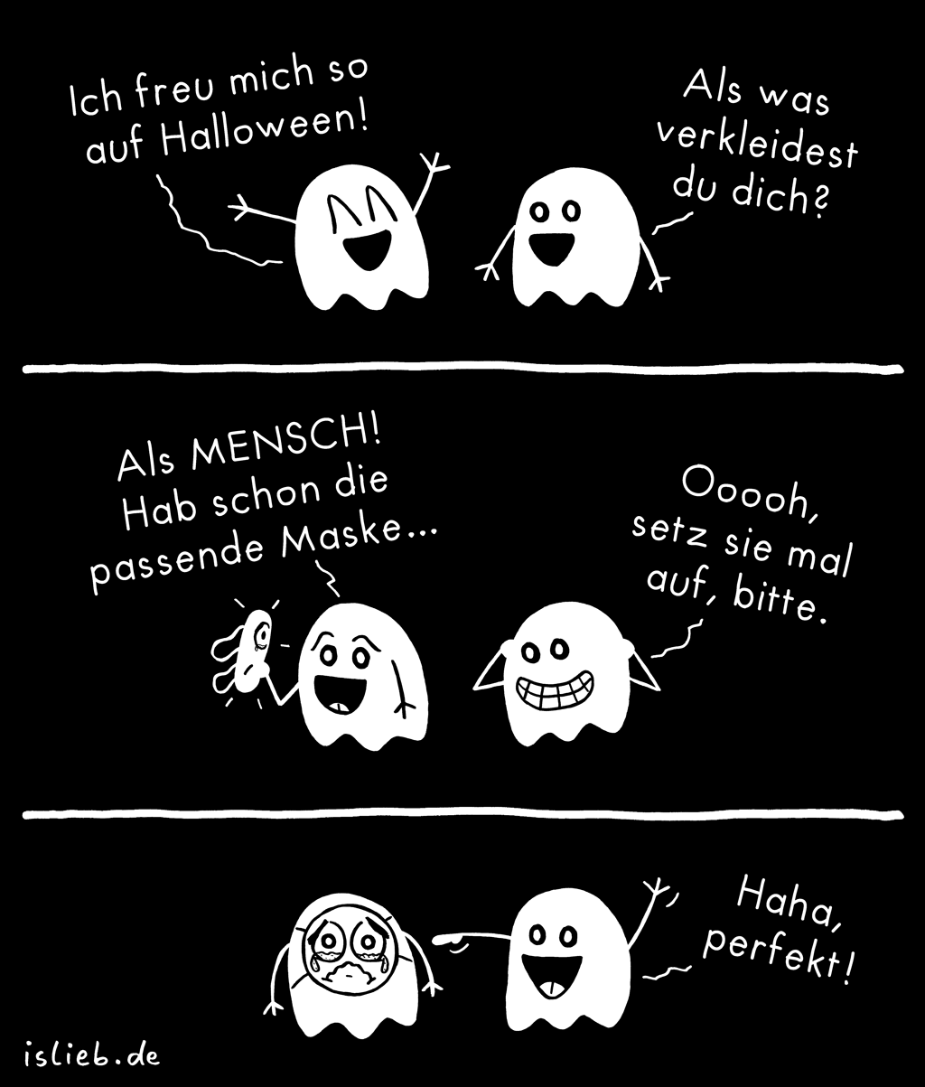 Halloween | Geister-Comic | is lieb?