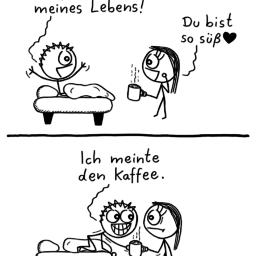 Liebe des Lebens | süßer Comic | is lieb?