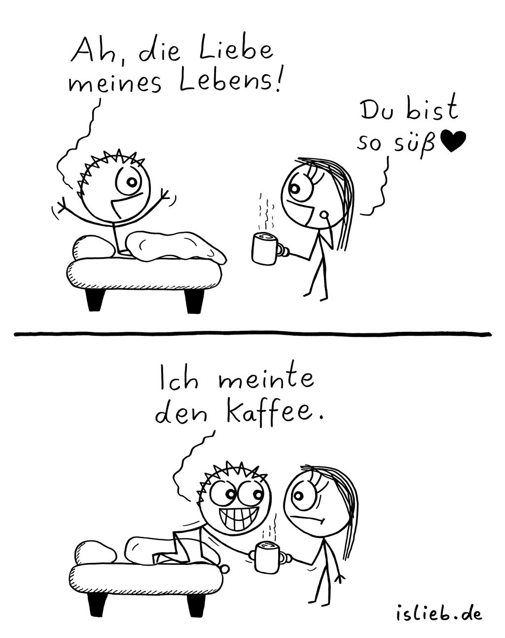 Liebe des Lebens   süßer Comic   is lieb?