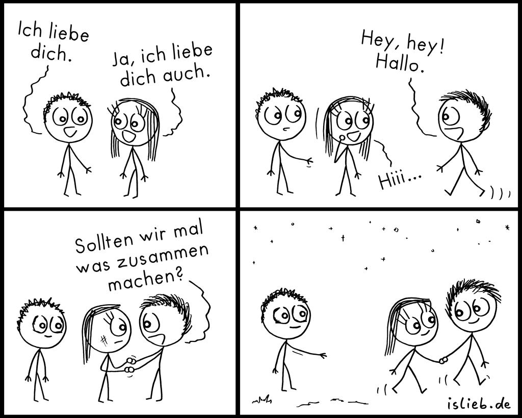 Zusammen | Liebescomic | is lieb?