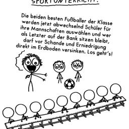 Sportunterricht | Is fies!