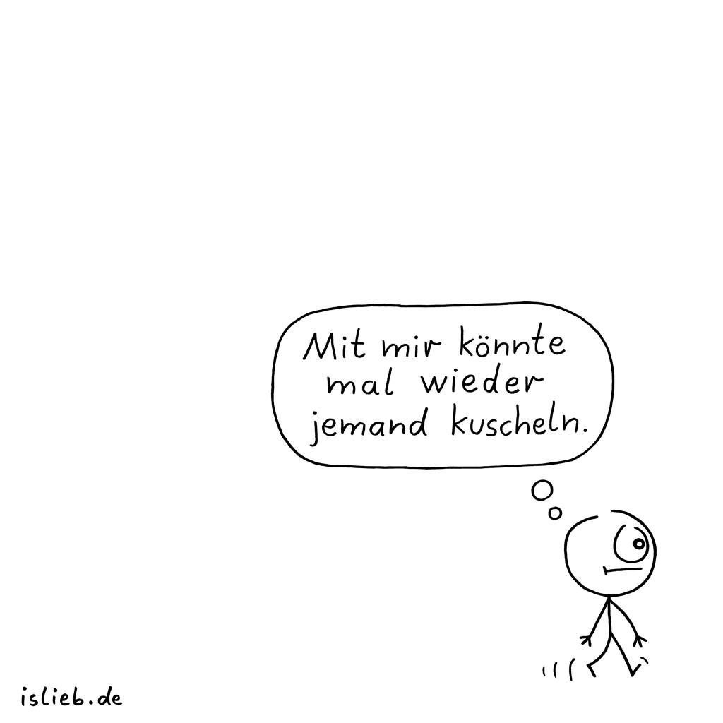 Aber echt | Kuschel-Cartoon | is lieb?