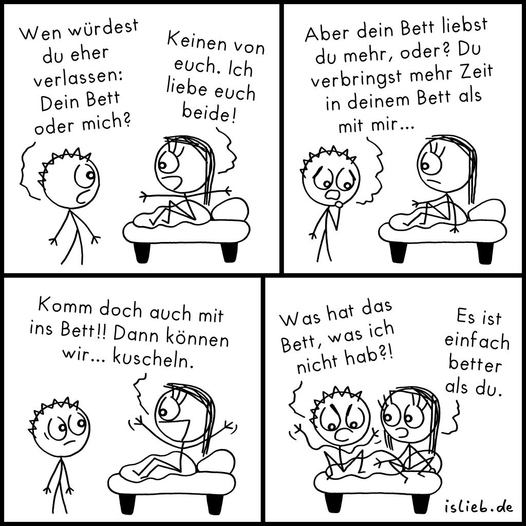 Bett | Beziehungskiste | is lieb?