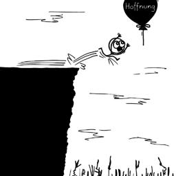 Knapp | Hoffnungs-Cartoon | is lieb?