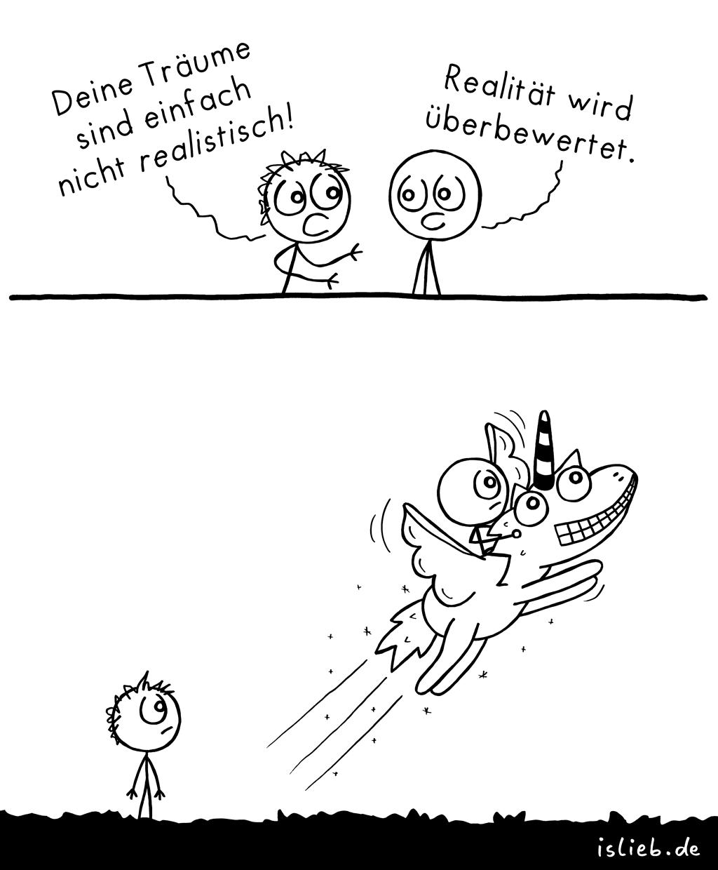Nicht realistisch | Einhorn-Comic | is lieb?