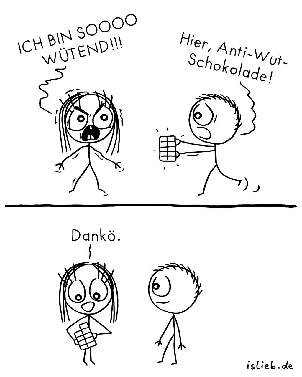 Wütend | Wut-Comic | is lieb?