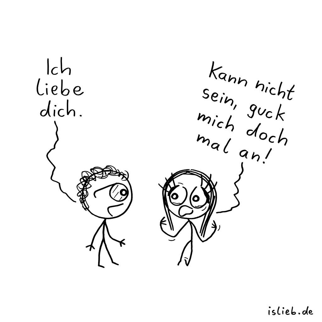 Angucken | Liebesgeständnis | is lieb?