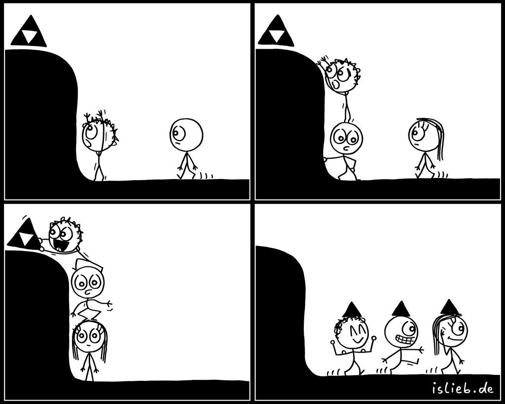 Triforce | Zelda-Comic | is lieb?