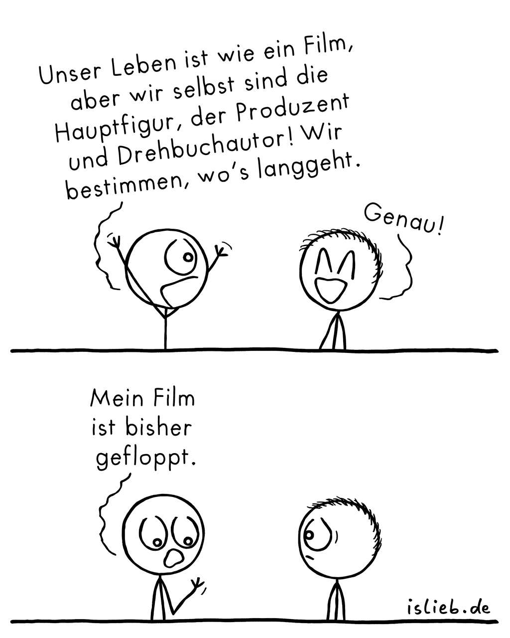 Film | Comic übers Leben | is lieb?