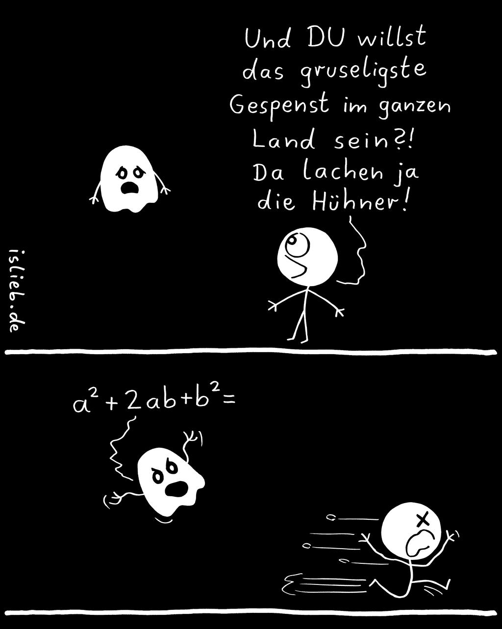 Schreckgespenst | Grusel-Comic | is lieb?