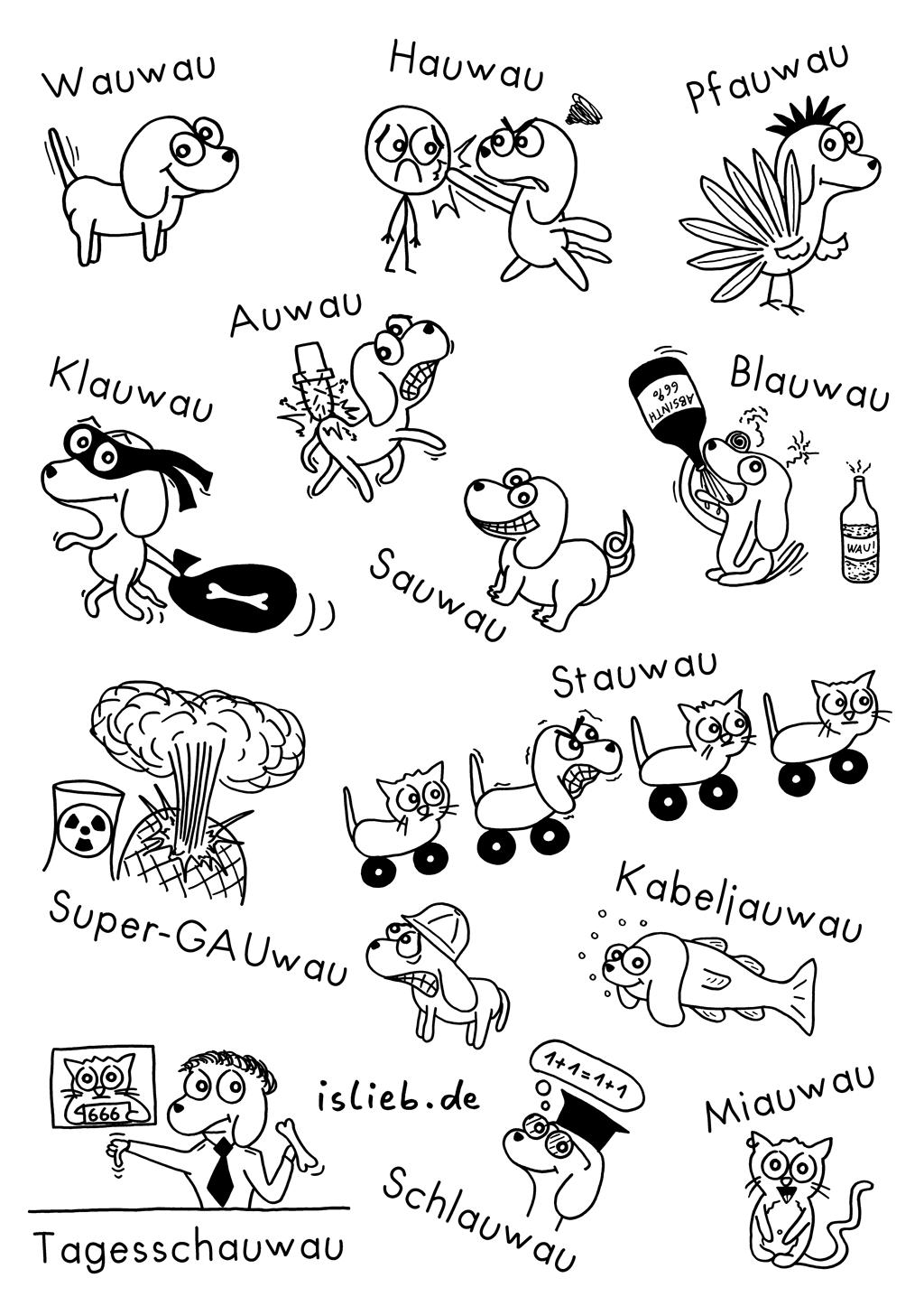 Wauwaus | Hunde-Comic | is lieb?