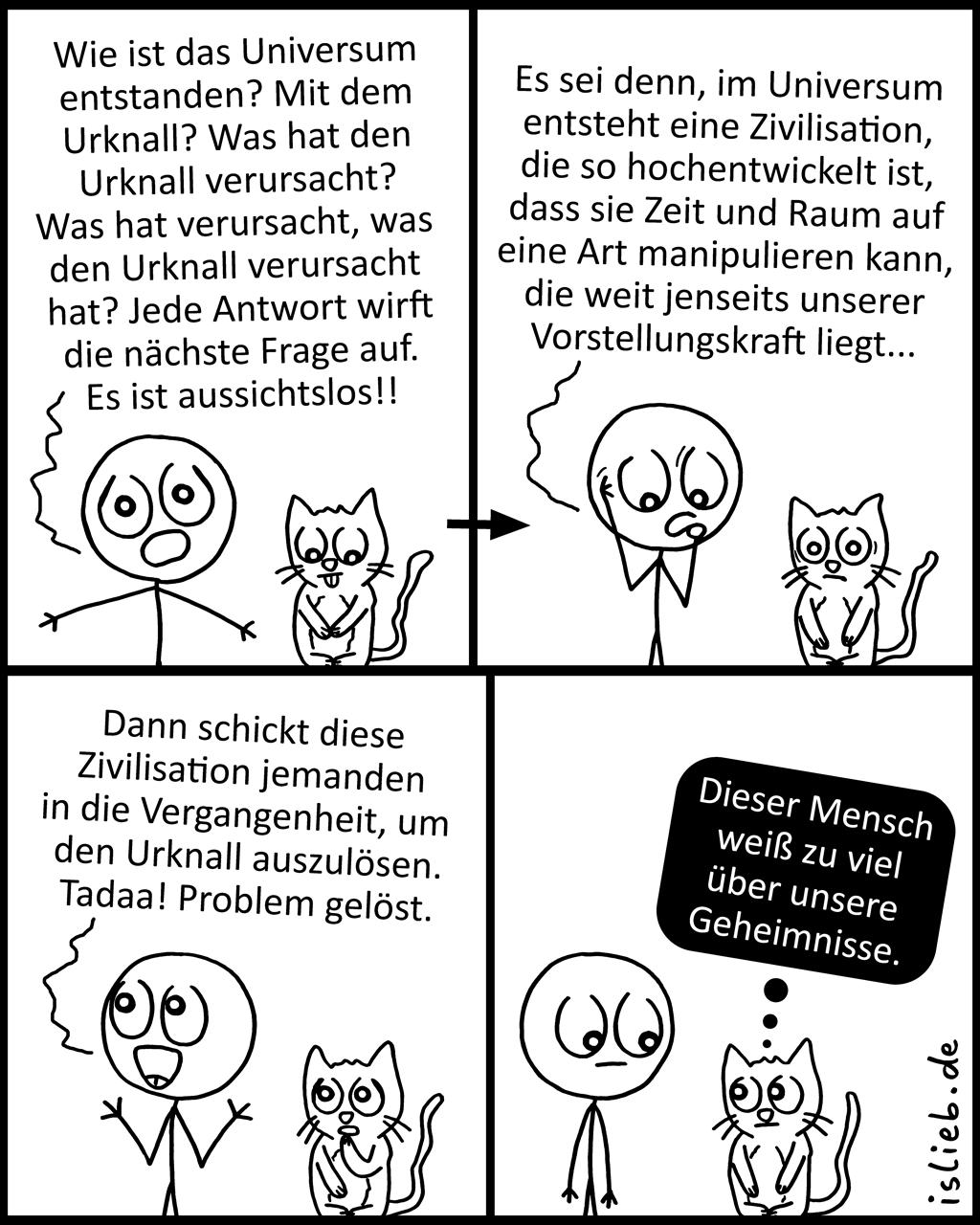 Ursprung | Urknall-Comic | is lieb?