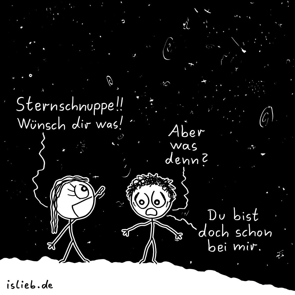 Wünschen | Liebes-Cartoon | is lieb?