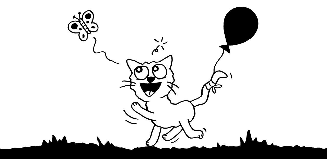 Schmetterkatze