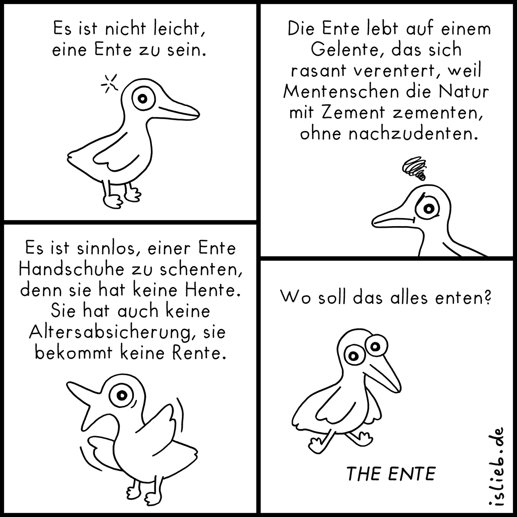 Entencomic | Mit Happy Ente | is lieb?