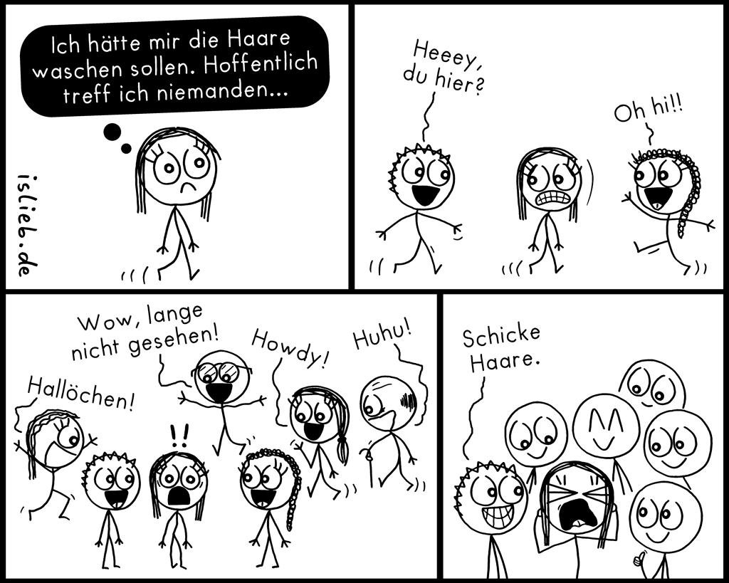 Niemanden treffen | Strichfrauchen-Comic | is lieb?