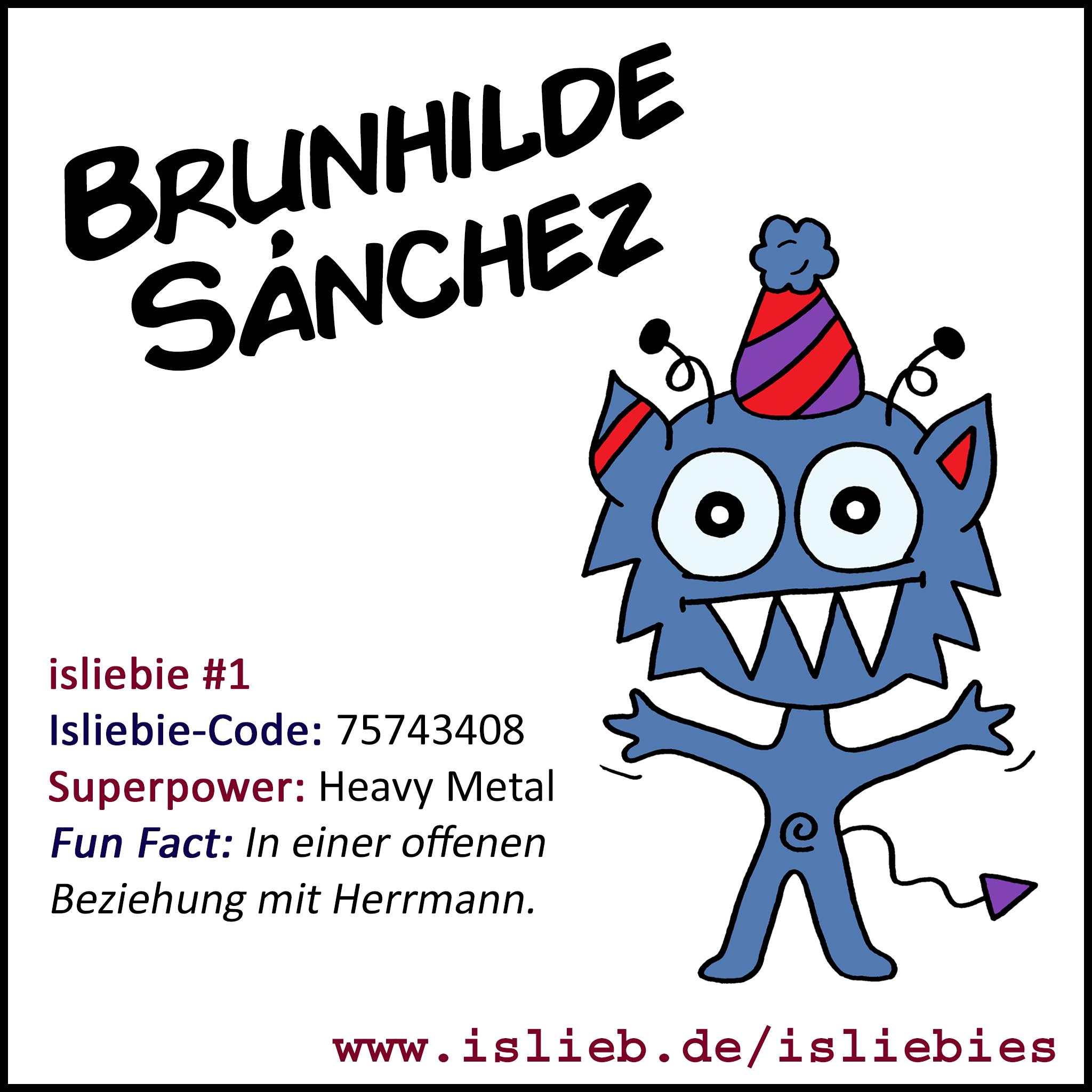 isliebie Brunhilde Sánchez