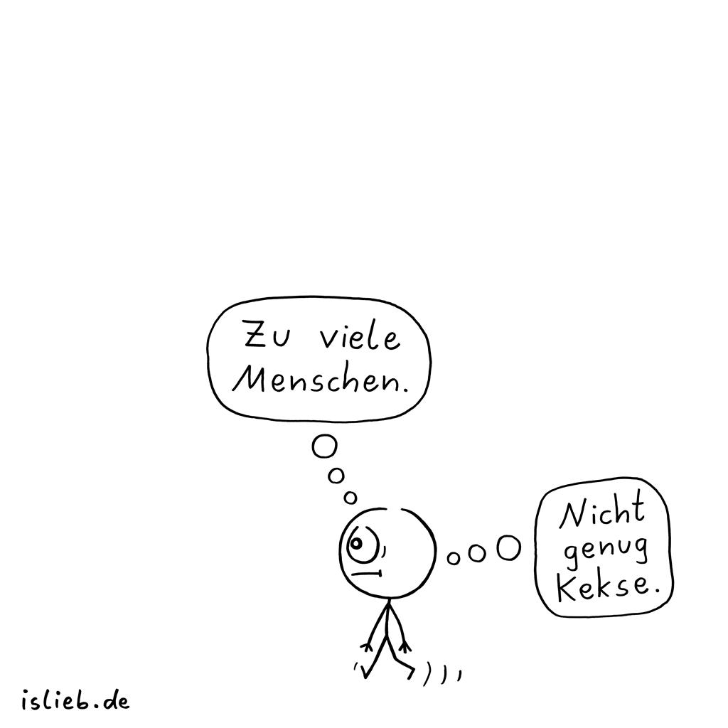 Genau falsch | Keks-Cartoon | is lieb?