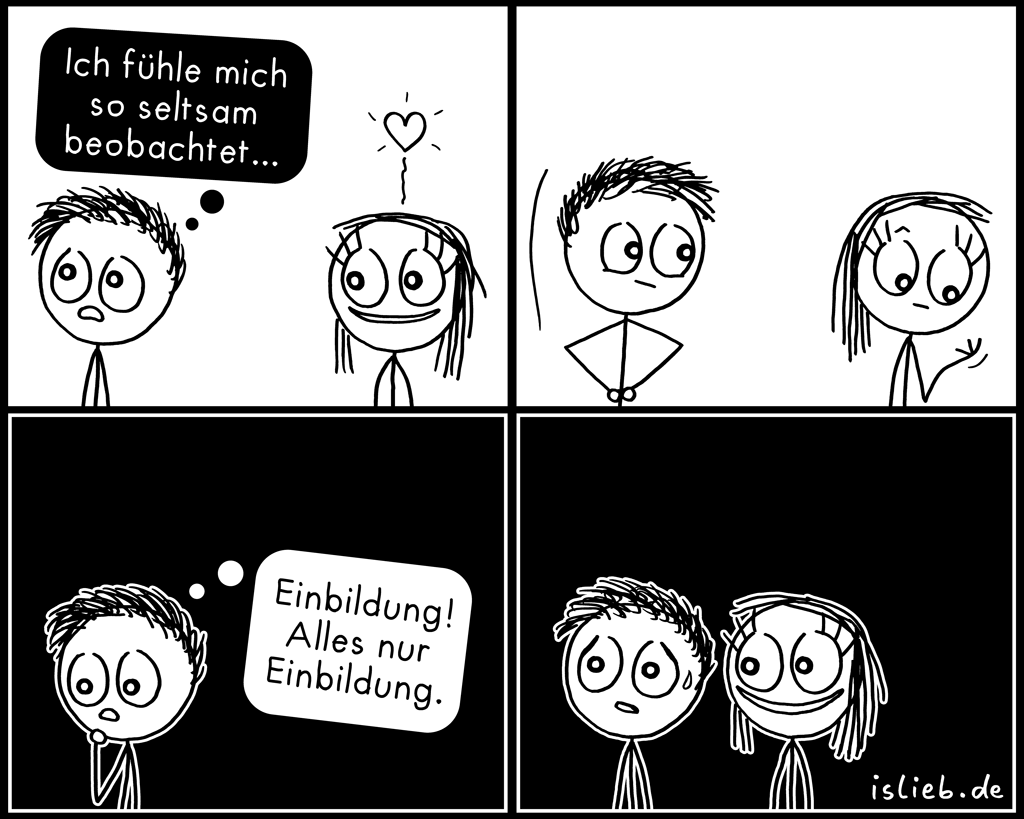 Beobachtet | Creepy Comic | is lieb?
