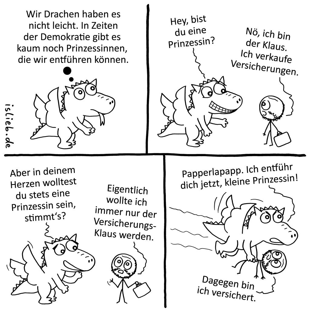 Drachenleben | Prinzessinnen-Comic | is lieb?