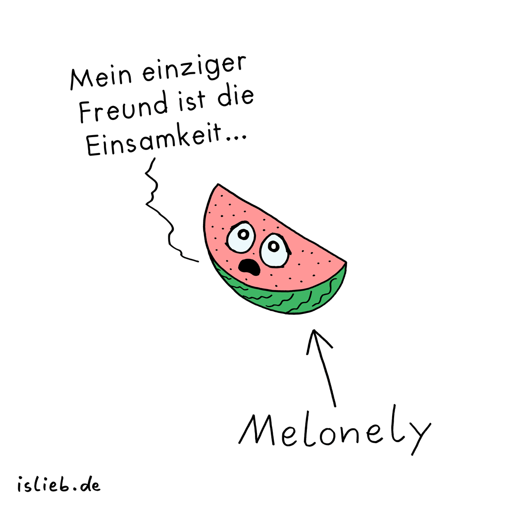 Melonely | Melonen-Cartoon | is lieb?
