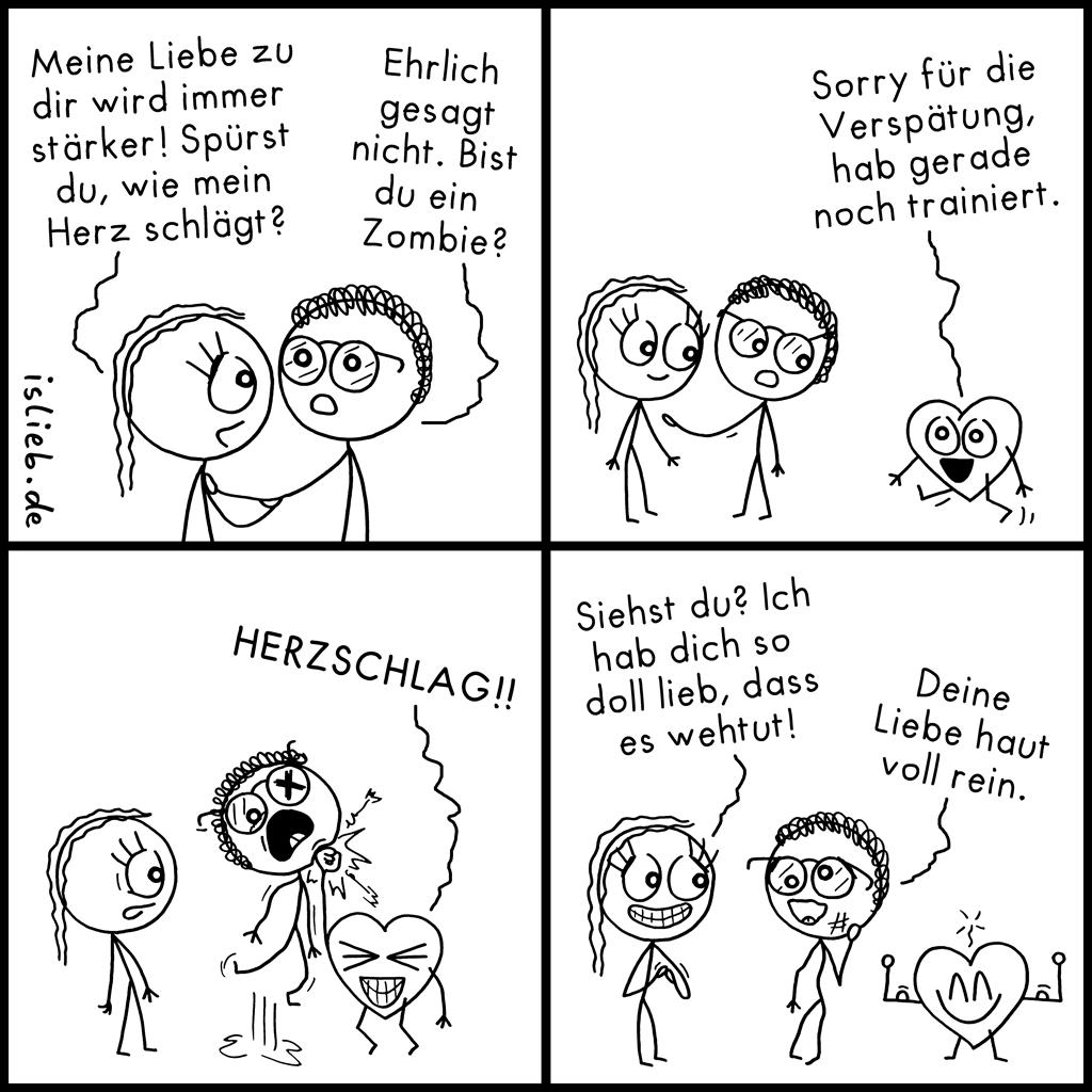 Herzschlag | Liebes-Comic | is lieb?