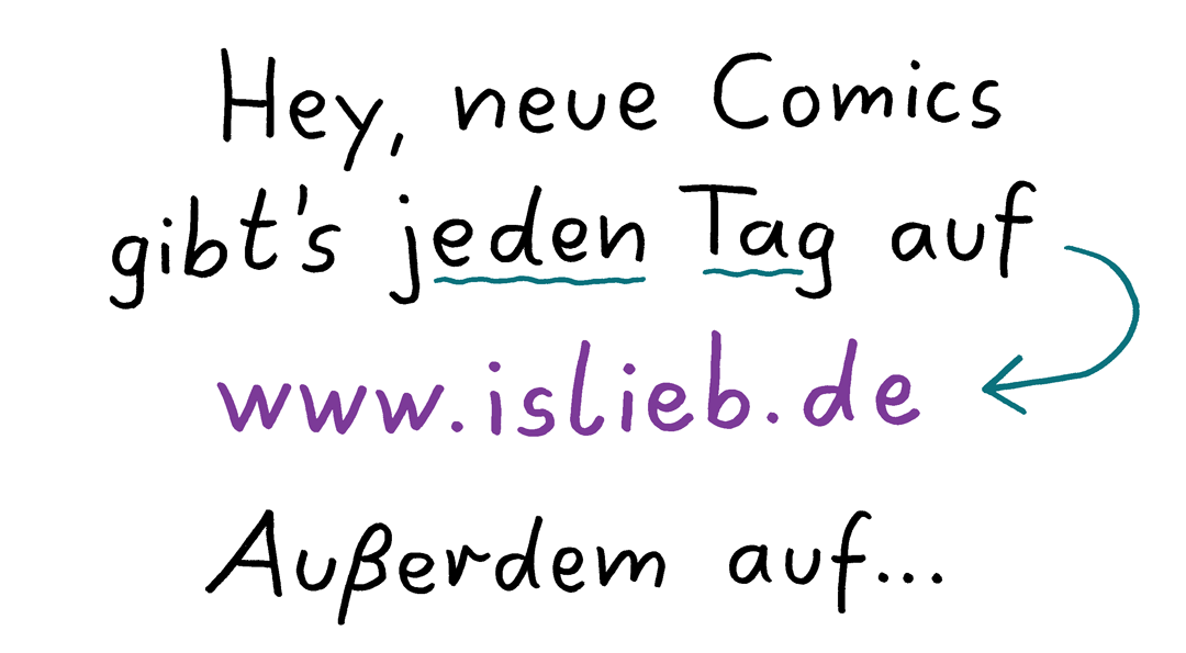 Website-Hinweis - Is lieb?