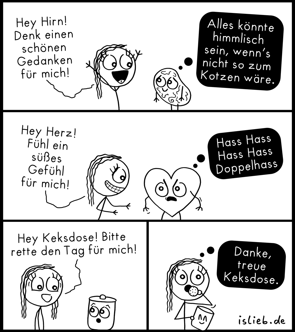 Dose | Rettungs-Comic | is lieb?