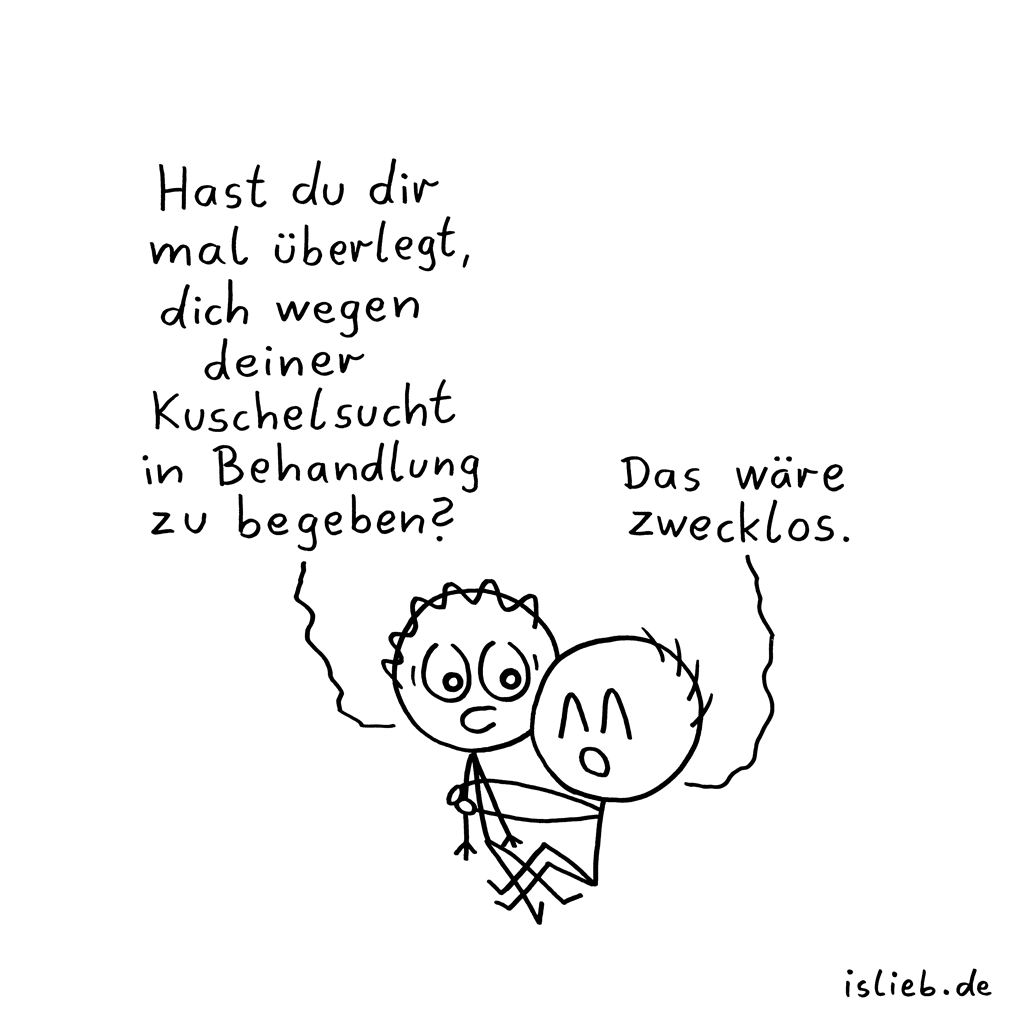 Überlegung | Behandlungs-Cartoon | is lieb?