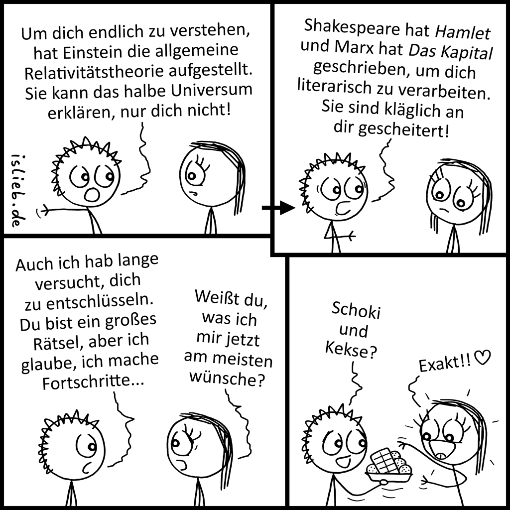 Rätsel | Mystischer Comic | is lieb?
