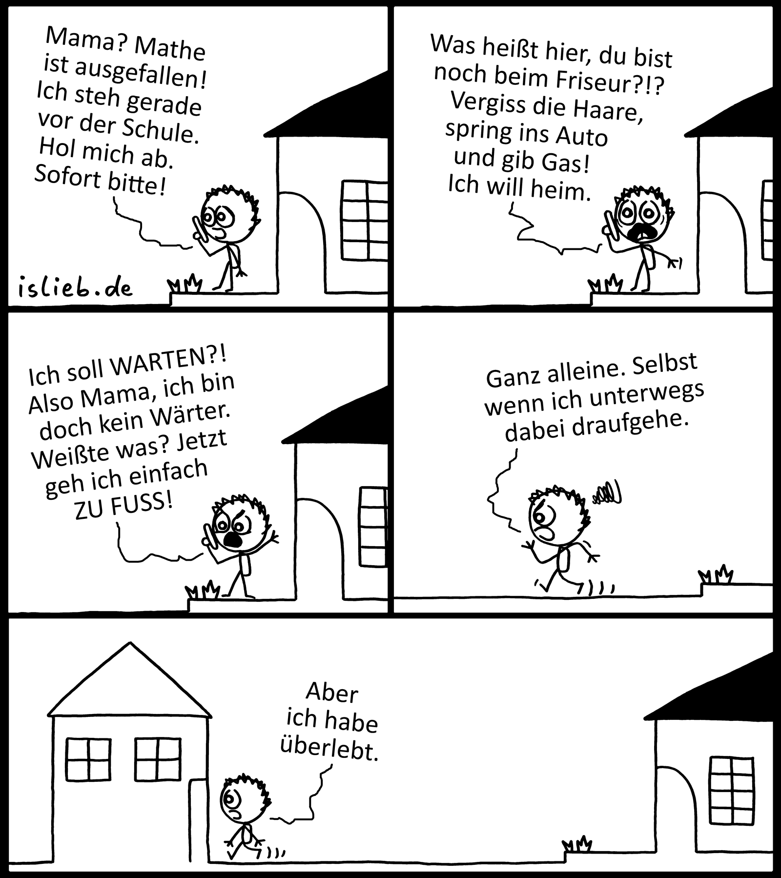DIY | Schulweg-Comic | is lieb?