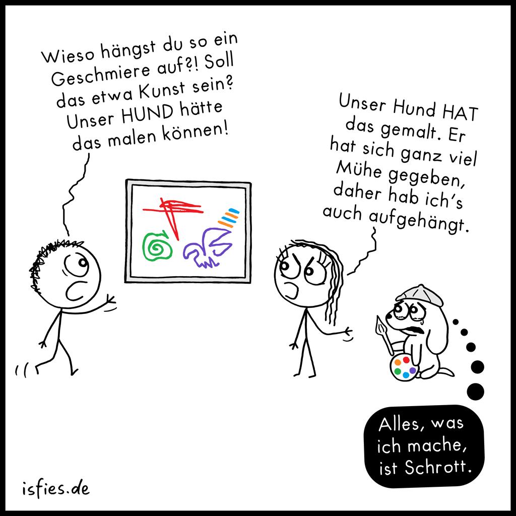 Kunstkritik | Is fies!