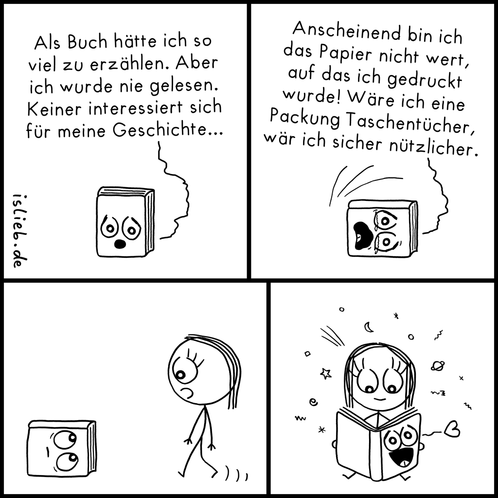Buch | Lese-Comic | is lieb?