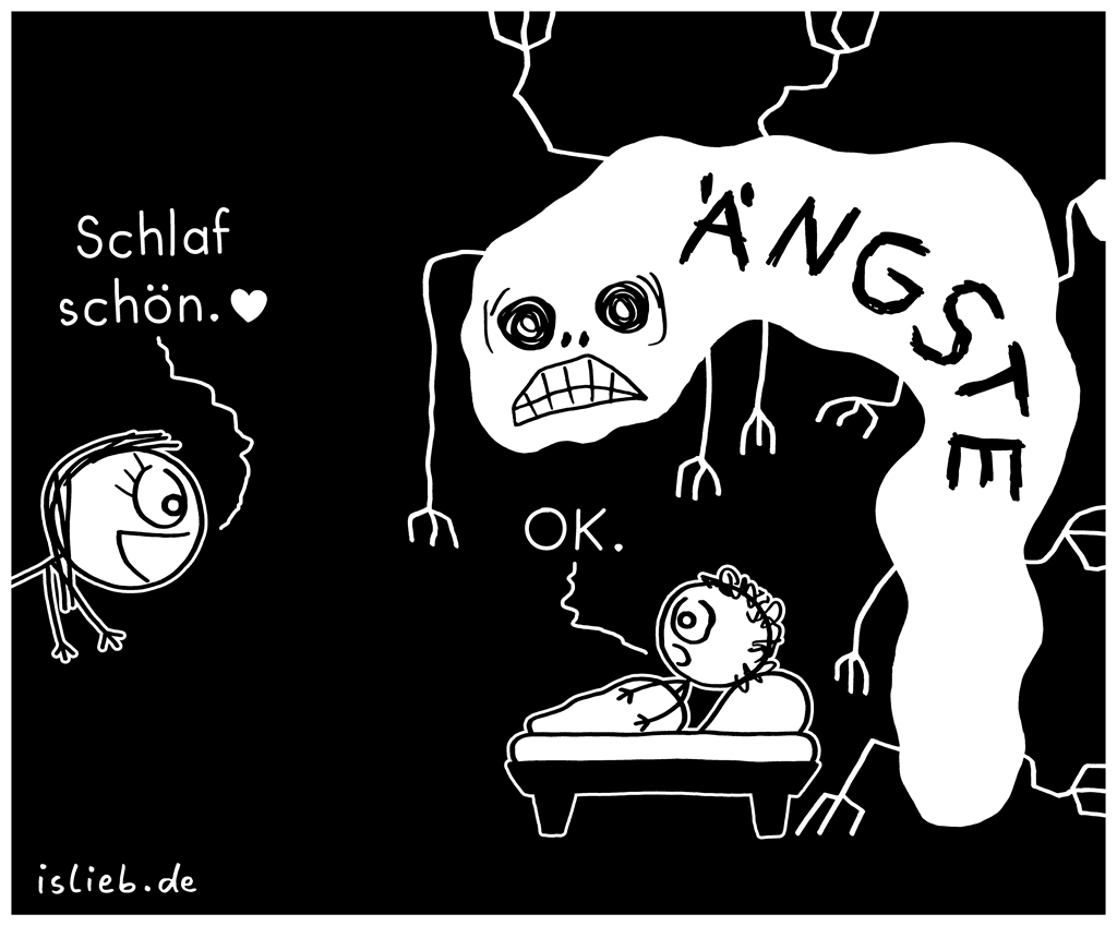 Schlaf schön | Einschlaf-Cartoon | is lieb?