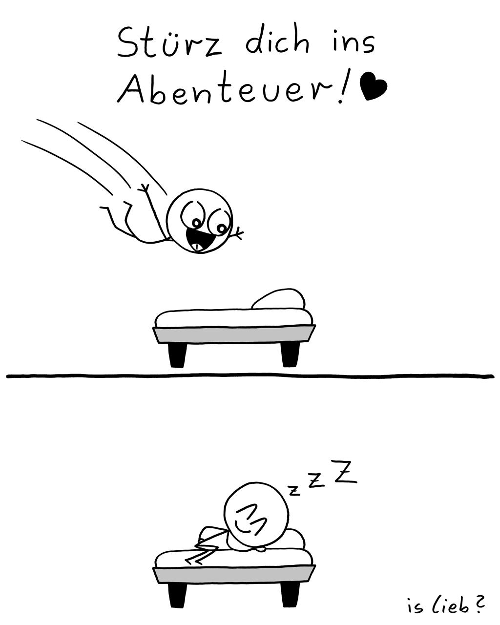Abenteuer | Traum-Comic | is lieb?