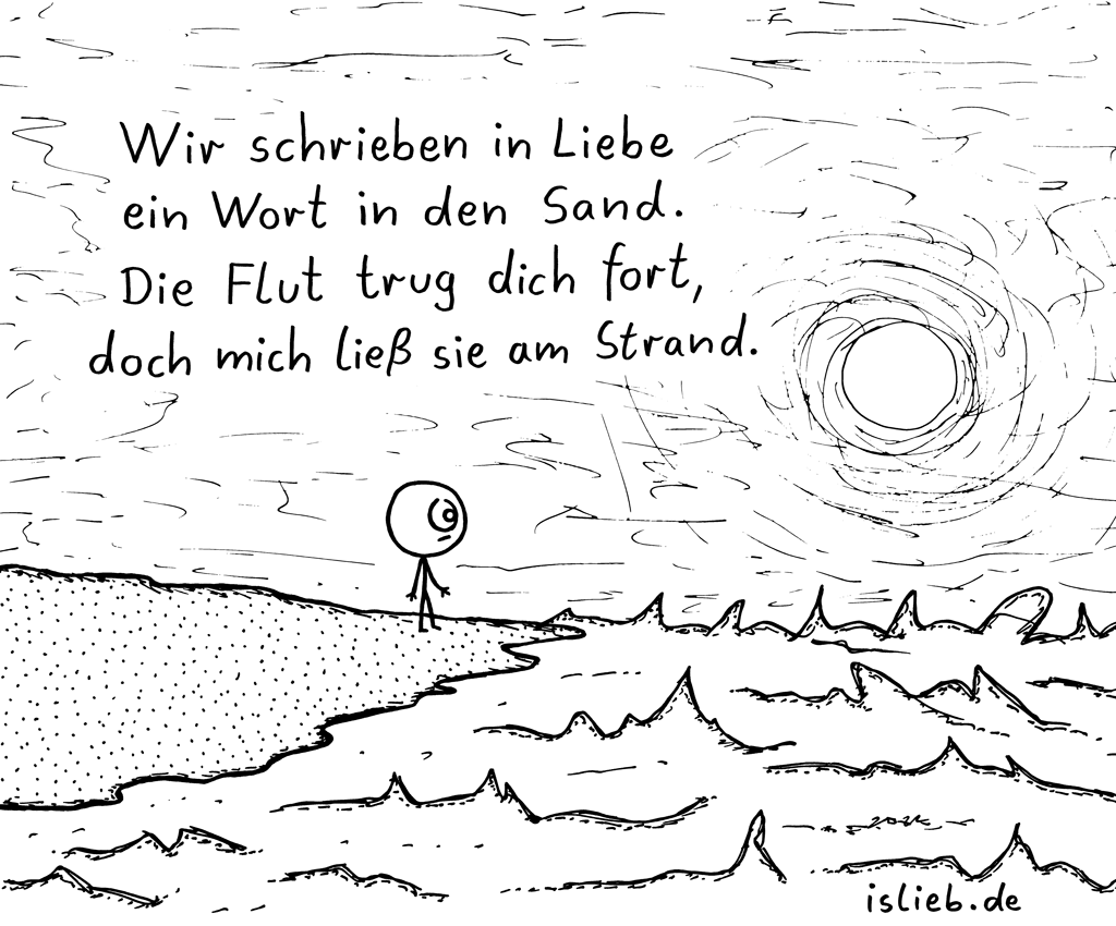 Flut | Comic-Poesie | is lieb?