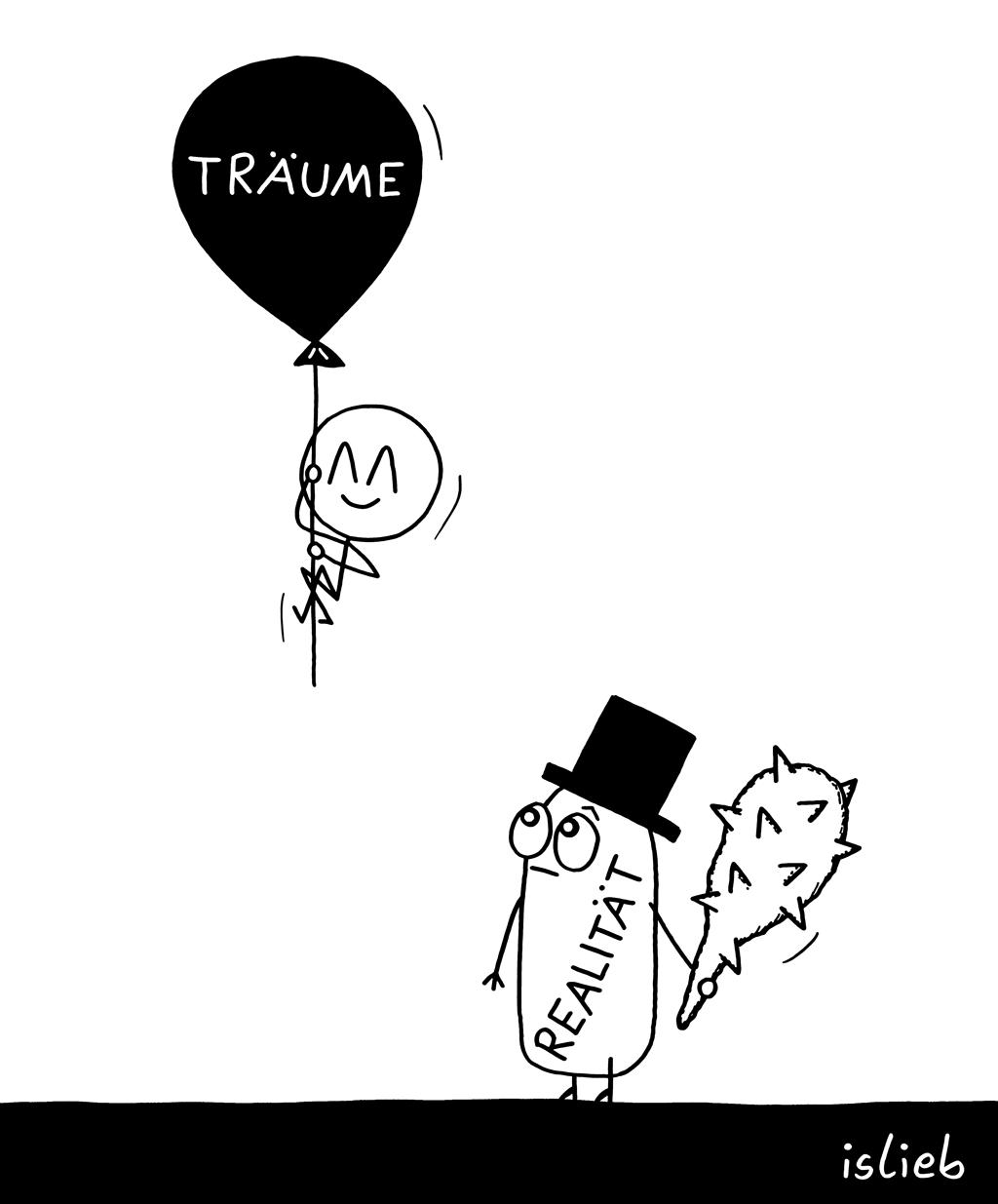 Abgehoben | Verträumter Cartoon | is lieb?
