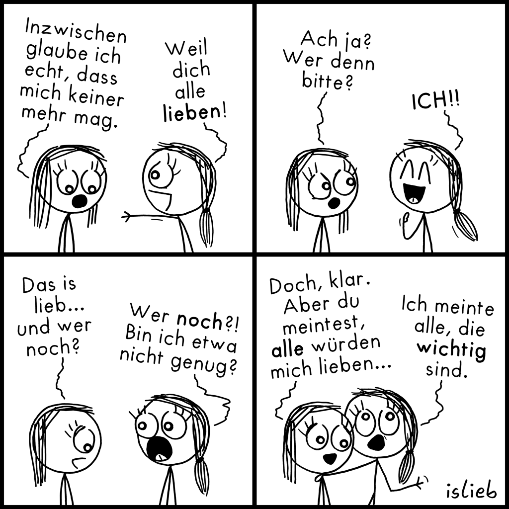 Alle | Strichmädchen-Comic | is lieb?