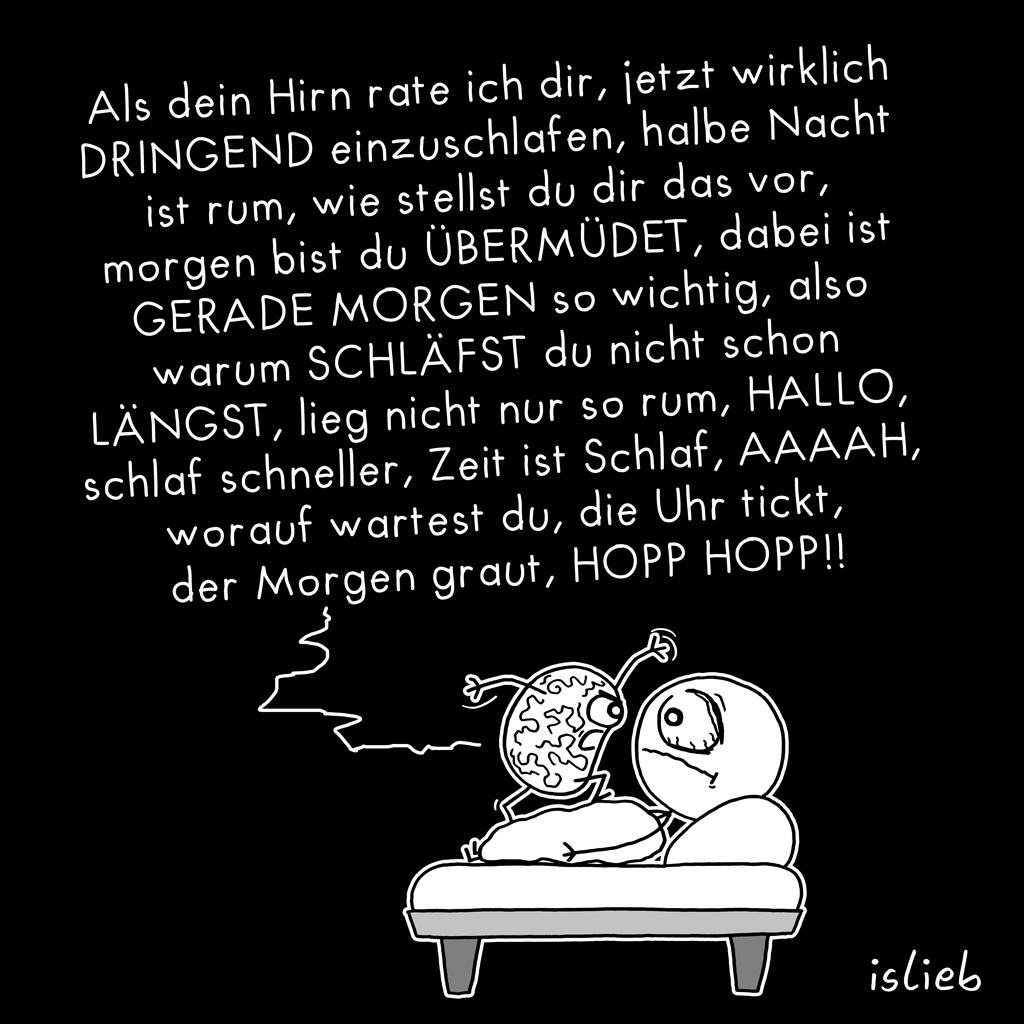 Besser einschlafen | Gute-Nacht-Cartoon | is lieb?