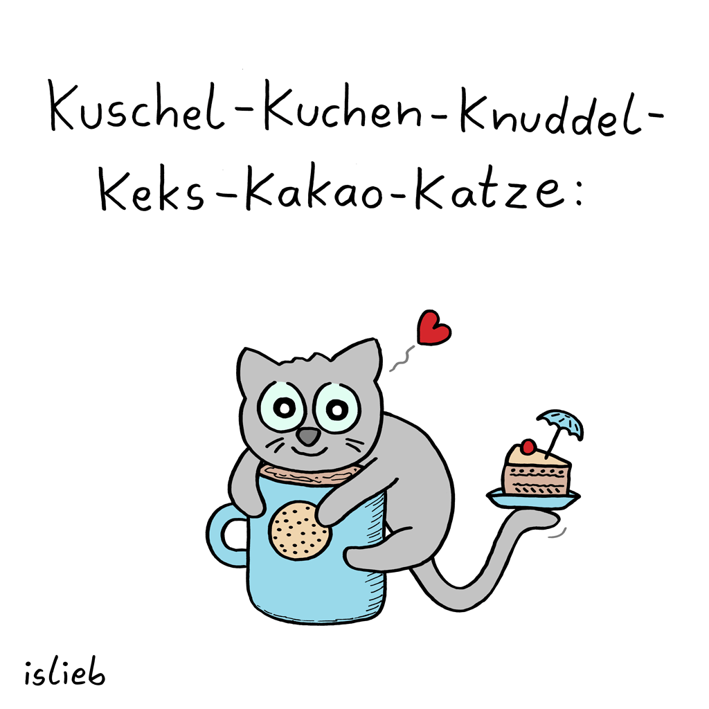 Katze | Kakao-Cartoon | is lieb?