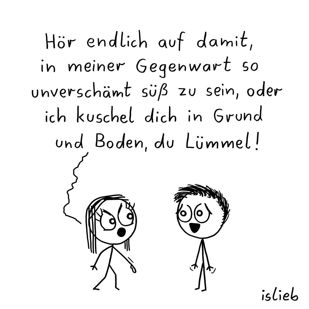 Letzte Warnung | Kuschel-Cartoon | is lieb?