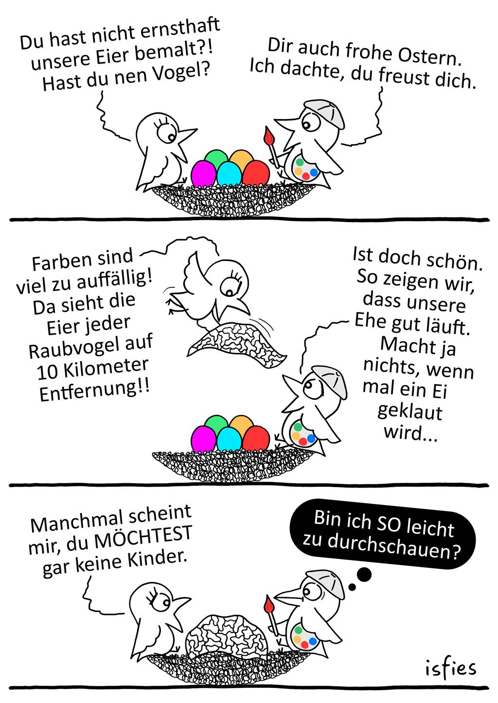Ostervögel | Is fies!