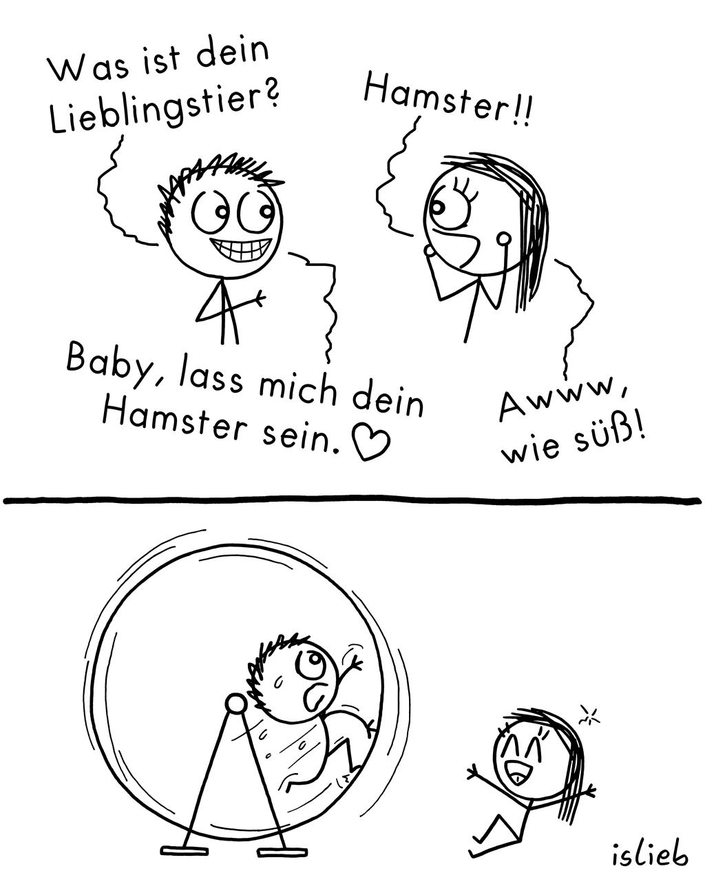 Lieblingstier | Hamster-Comic | is lieb?