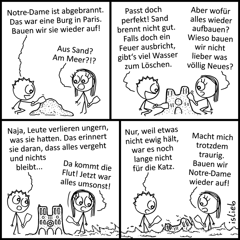Notre-Dame | Sandburg-Comic | is lieb?