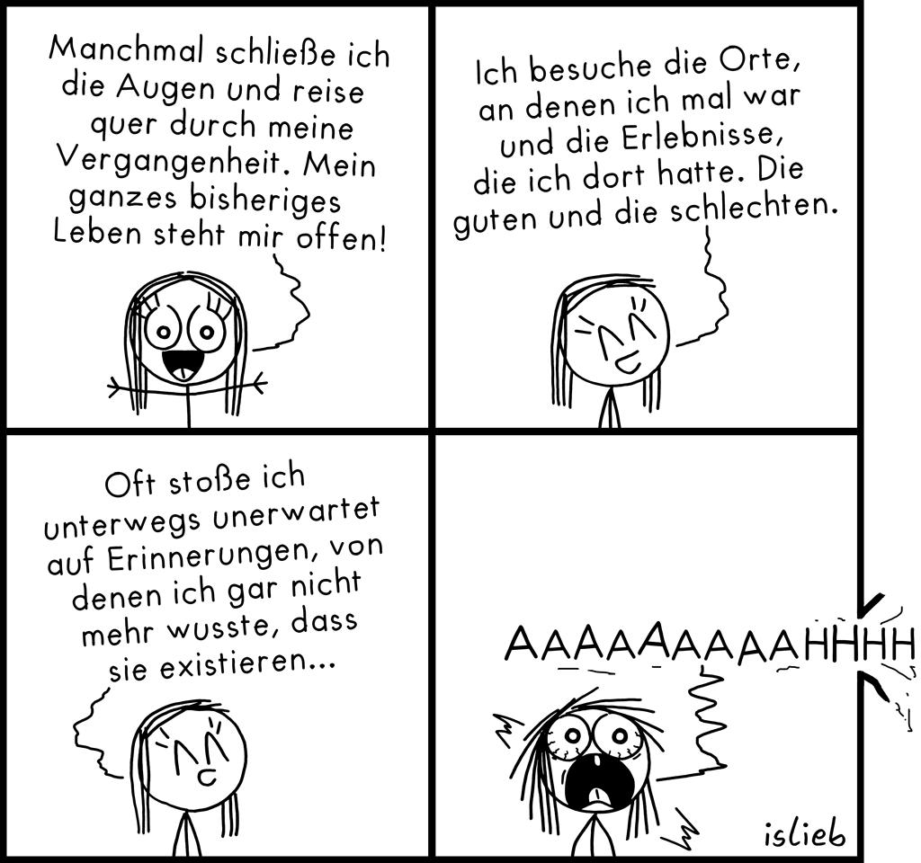 Gedankenreise | Erinnerungs-Comic |  islieb