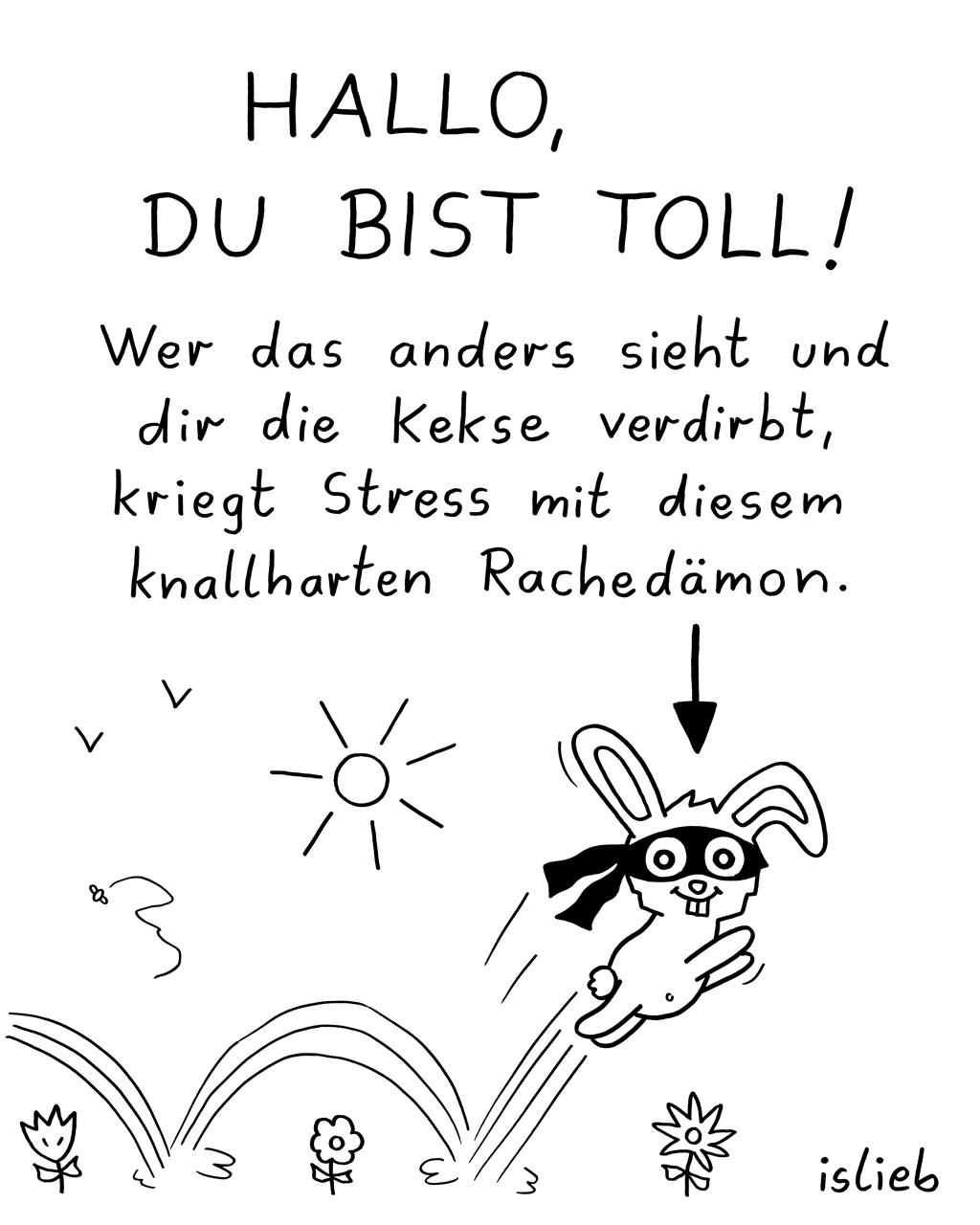 Hallo du! | Comic-Karma | islieb